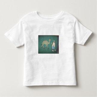 Man with Camel - Customized Tee Shirts
