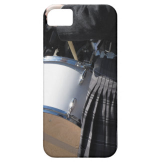 Man with kilt playing on drums iPhone 5 covers
