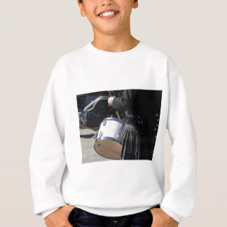 Man with kilt playing on drums sweatshirt