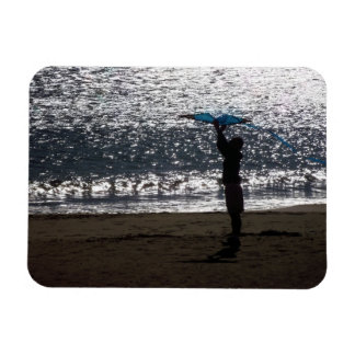 Man with to kite magnet