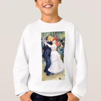 Man woman dancing renoir painting sweatshirt