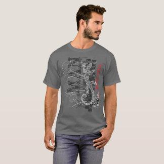 Mana Atua - Power from the gods (red writing) T-Shirt