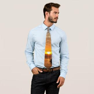 Manado Bay Sunset Tie