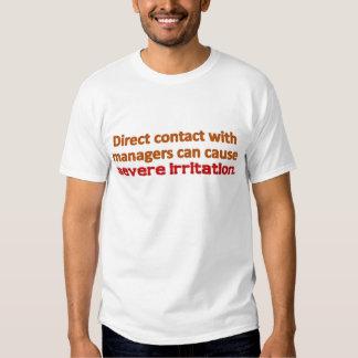Management Contact Tshirt