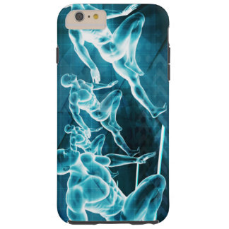 Management Solution Abstract as a Business Concept Tough iPhone 6 Plus Case