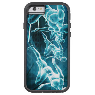 Management Solution Abstract as a Business Concept Tough Xtreme iPhone 6 Case