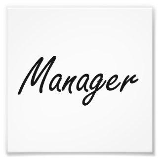 Manager Artistic Job Design Art Photo