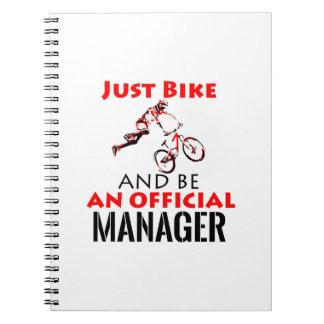 manager design notebook