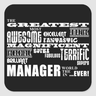Managers & Bosses : Greatest Manager Stickers