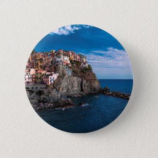 Manarola, cinque terre. Italy 2 Inch Round Button