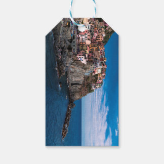 Manarola, cinque terre. Italy Gift Tags