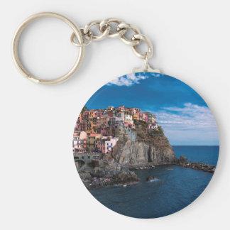 Manarola, cinque terre. Italy Keychain