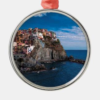 Manarola, cinque terre. Italy Metal Ornament
