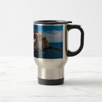 Manarola, cinque terre. Italy Travel Mug