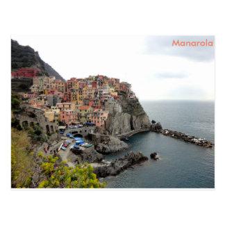 Manarola postcard