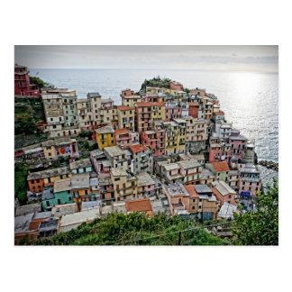 Manarola - The Cinque Terre - Italy Postcard