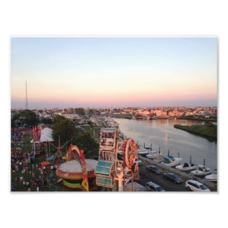 Manasquan Fireman's Fair Overlooking Mallard Park Photo Print