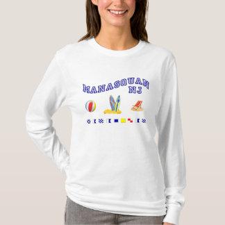 Manasquan NJ - Maritime Spelling T-Shirt