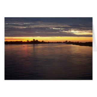 Manasquan River at Dawn Card
