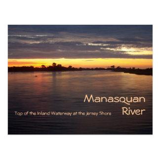 Manasquan River at Dawn Postcard