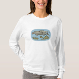 Manatee And Calf T-Shirt