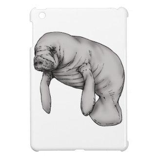 manatee art cover for the iPad mini
