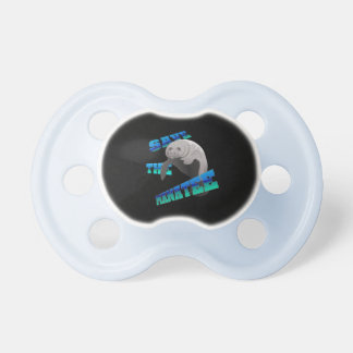 Manatee Baby Pacifiers