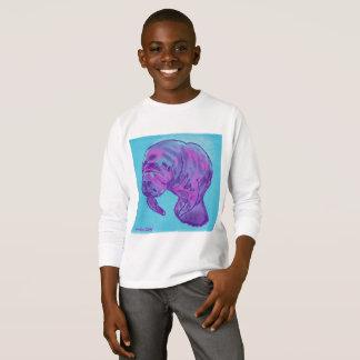 Manatee child's long sleeve tee shirt