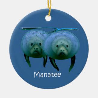 Manatee Christmas Ornament