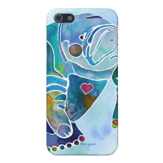 Manatee iPhone Cover Blues iPhone 5/5S Covers
