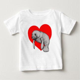 manatee love baby T-Shirt