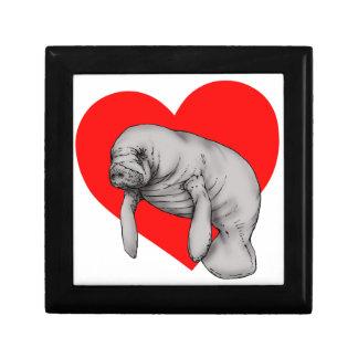 manatee love gift box