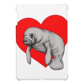 manatee love iPad mini cases