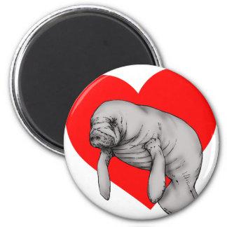 manatee love magnet