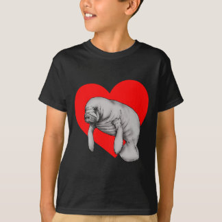 manatee love T-Shirt