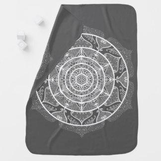 Manatee Mandala Baby Blanket
