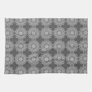 Manatee Mandala Kitchen Towel