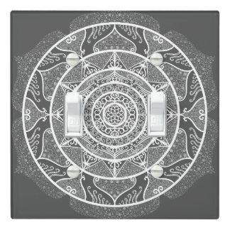 Manatee Mandala Light Switch Cover
