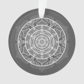 Manatee Mandala Ornament