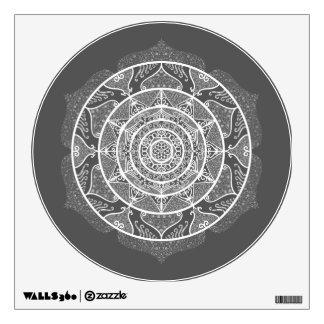 Manatee Mandala Wall Sticker