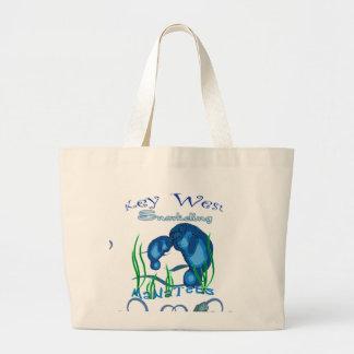 Manatee mom and baby bag