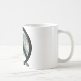 manatee peace coffee mug