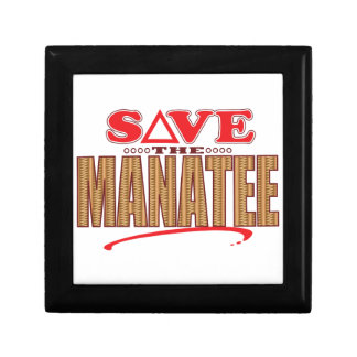 Manatee Save Trinket Boxes