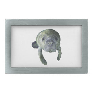 Manatee Springs Rectangular Belt Buckle