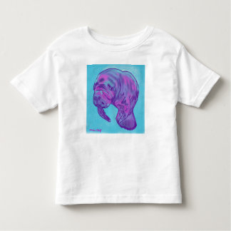 Manatee toddler tee shirt