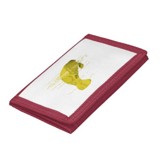 Manatee Tri-fold Wallet