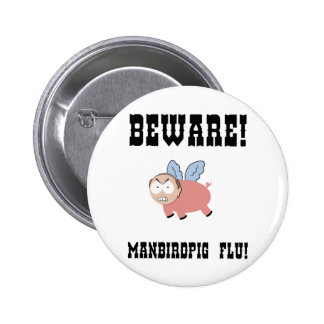 manbirdpig-LTT 2 Inch Round Button