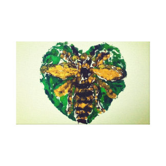Manchester Bee Canvas print