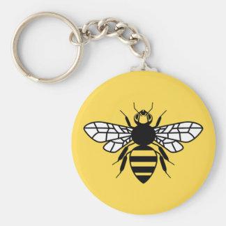 Manchester Bee Keychain