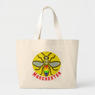 Manchester Bee Large Tote Bag